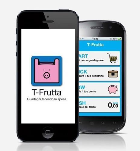 come guadagnare con le app T-Frutta