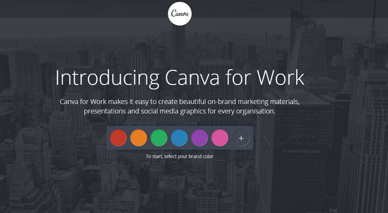 come usare canva | canva for work