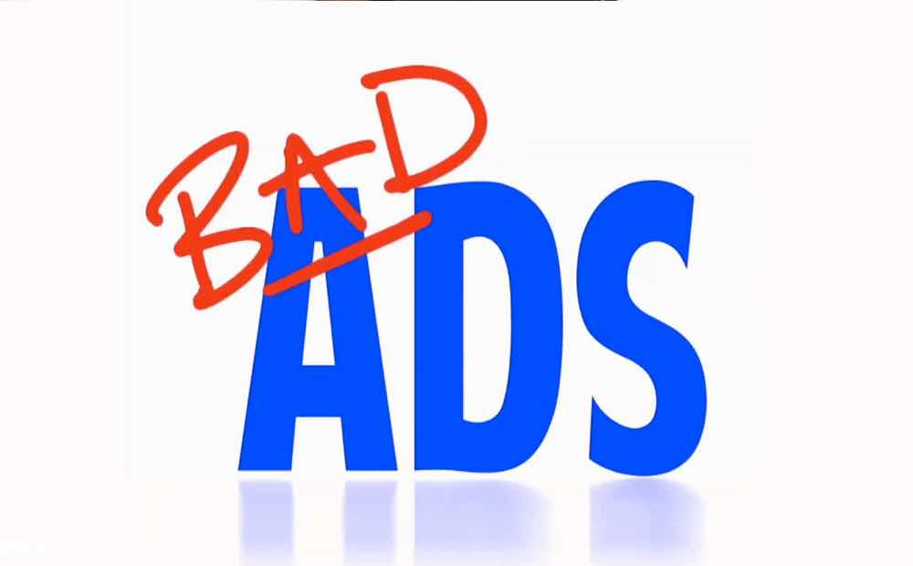 google adwords bad ads