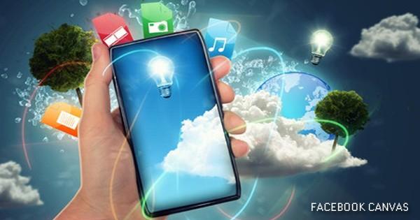 facebook canvas mobile adv