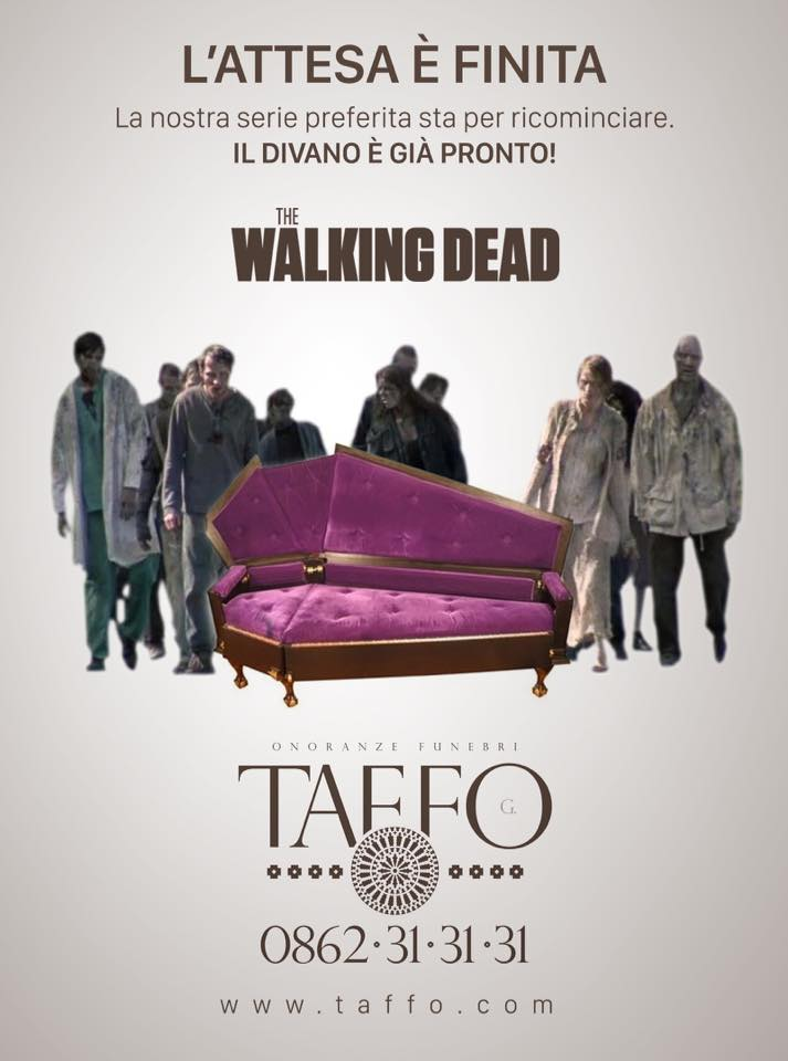 marketing taffo funebri walking dead