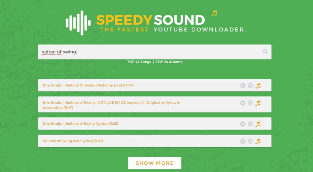 speedysound-ricerca