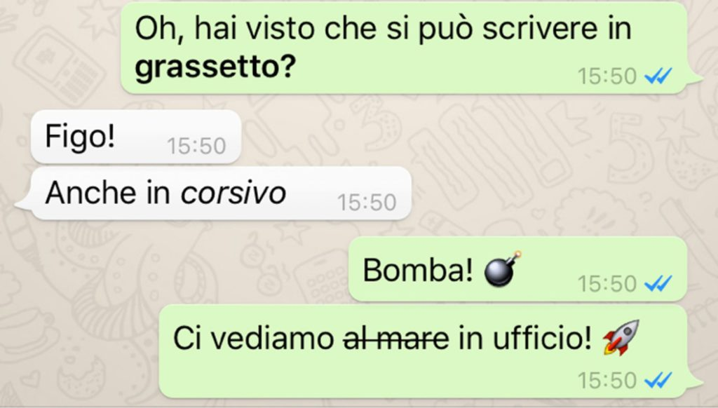 nuove feature whatsapp 2016