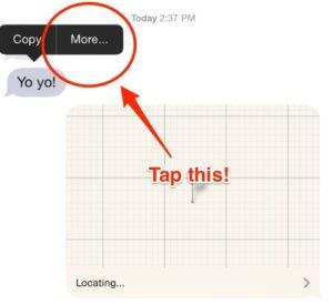 inoltrare messaggi su iPhone