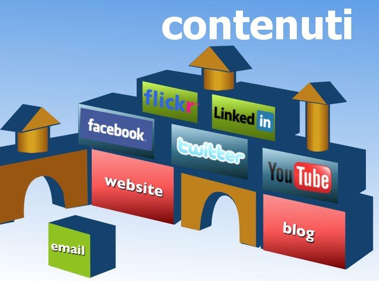 creare contenuto