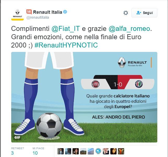renault italia twitter